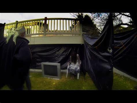 backyard haunted house halloween haunted house backyard maze 2014 doovi