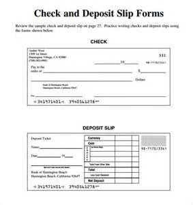bank deposit form template slip template 13 free word excel pdf documents