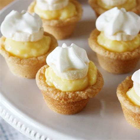 Cup Puding Mini mini banana cookie pies cookies and pies