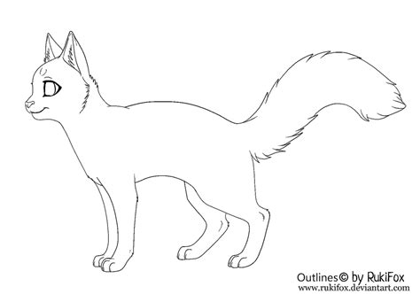 cat drawing template cat outline for paint by rukifox on deviantart