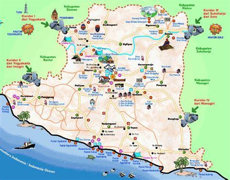 peta pantai  jogja pantai  gunung kidul info