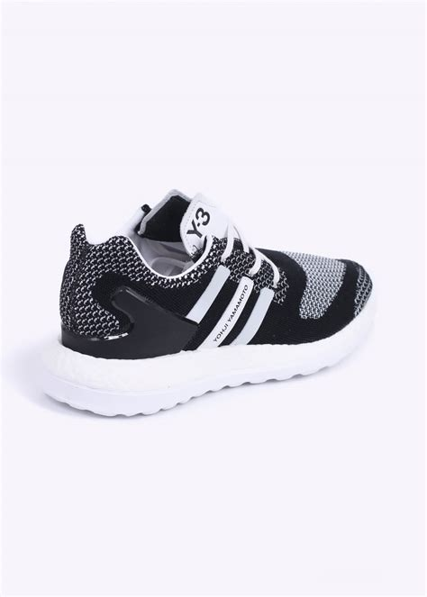 adidas y3 pure boost adidas y 3 pure boost zg knit trainers black white