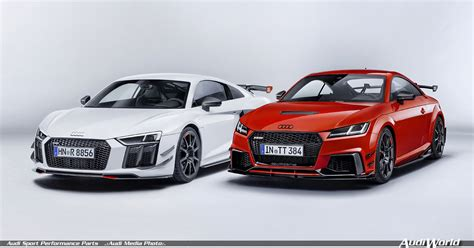 the audi sport performance parts new dynamics for audi