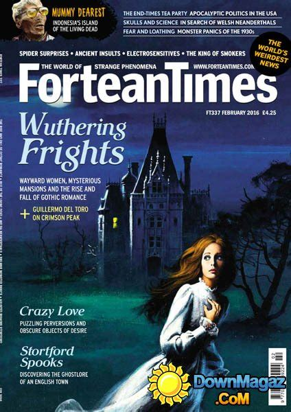 fortean times february    magazines