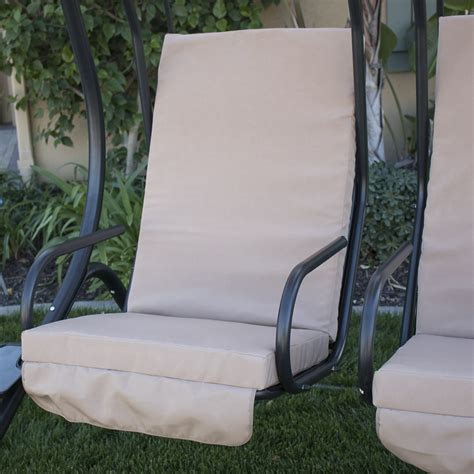 2 person swing set new outdoor swing set 2 person patio frame padded seat
