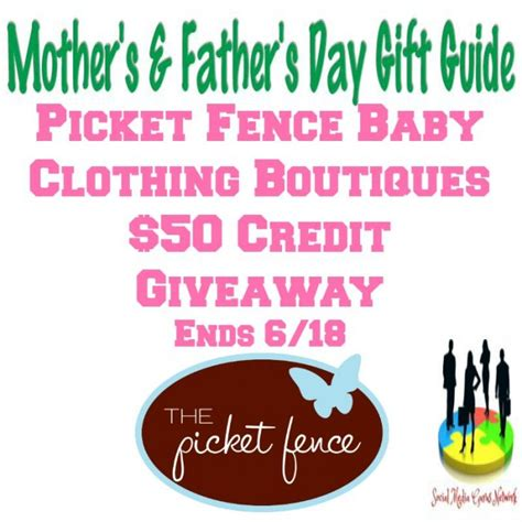 Baby Gear Giveaway 2017 - picket fence baby clothing boutiques 50 credit giveaway the homespun chics