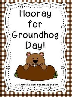groundhog day debbie mrs wheeler s grade tidbits groundhog day