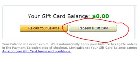 Check Balance On Amazon Gift Card Without Redeeming - how to check the balance of an amazon gift card quora
