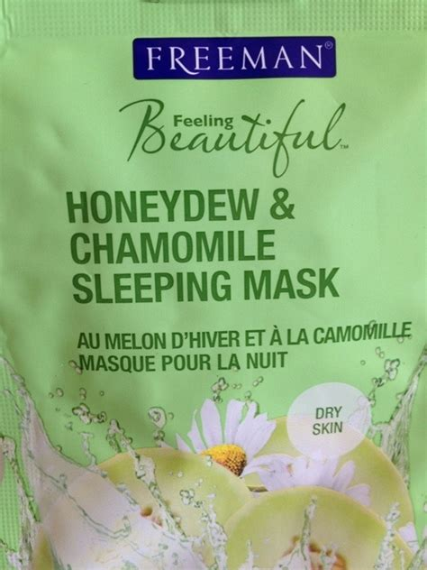 Freeman Mask Hydrating Honeydew And Chamomile Overnight Mask freeman honeydew and chamomile sleeping mask review