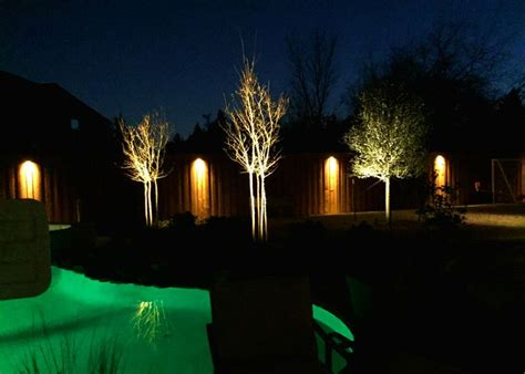 Dallas Landscape Lighting 45 Best Fence Step Wall Lighting Installation By Dallas Landscape Lighting Images On