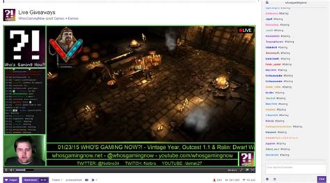 Twitch Giveaway Addon - twitch image ralin dwarf wars indie db