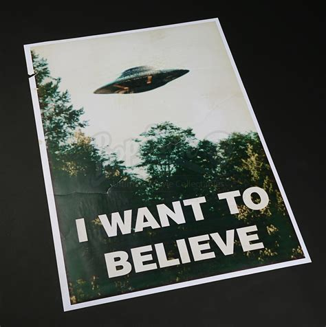 I Want To Believe i want to believe poster prop store ultimate