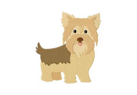 Embroidery Design Yorkshire Terrier | yorkshire terrier machine embroidery design daily embroidery
