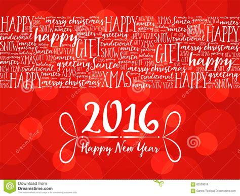 new year words 2016 2016 happy new year background word cloud stock