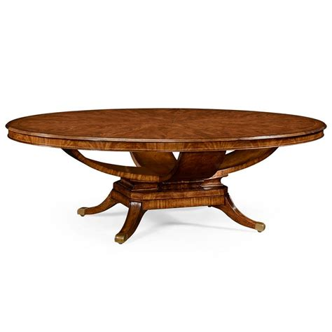 96 Inch Dining Table Jonathan Charles 494642 96d 96 Inch Biedermeier Style Oval Dining Table Discount
