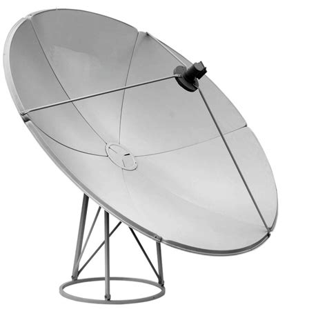 dish stand 2 4m prime focus steel satellite dish with floor mount stand