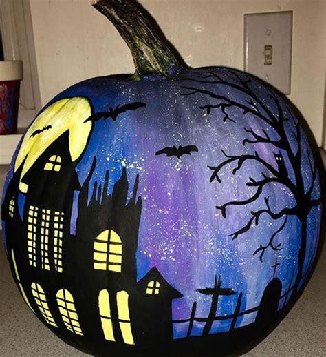 amazing painted decorative pumpkin art ideas