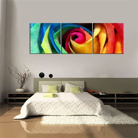 hd canvas prints home decor wall painting flower