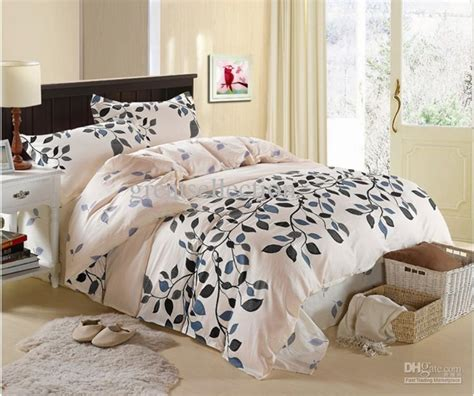 Super King Cotton Duvet Cover Cream Grey Blue Queen Size Cotton Bedding Sets Duvet Cover