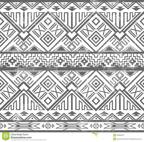 abstract aztec pattern abstract geometric seamless aztec pattern stock vector