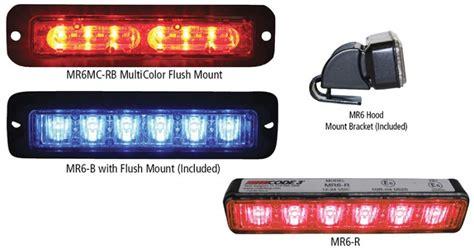 code 3 emergency lights code 3 mr6 tri color led light from swps com