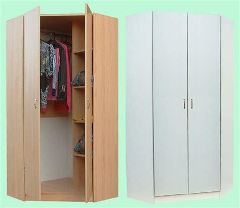 junita  door corner wardrobe mb beech mw white