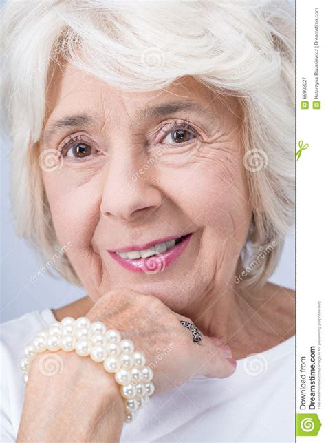 older women wearing jewelry elegant and proud woman from aristocracy stock photo