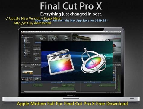 final cut pro x download final cut pro x motion 5 and compressor 4 free download