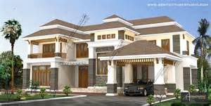 American Bungalow House Plans Two Storey Kerala House Designs Keralahouseplanner