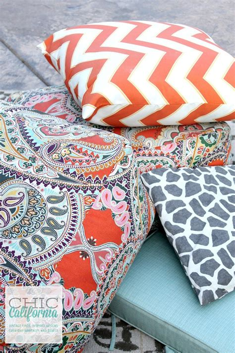 How To Clean Your Cushions by How To Clean Your Outdoor Furniture Cushions Chic California