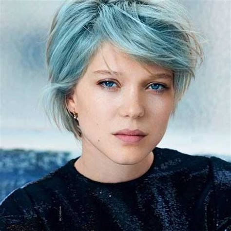 Blue Hairstyles by 10 New Blue Pixie Cut Hairstyles 2017 2018