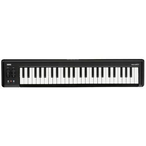Keyboard Korg Juno Korg Korg Microkey2 49 Key Compact Midi Keyboard Vinyl At