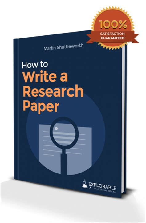 books to write a research paper on research paper outline how to write a research paper