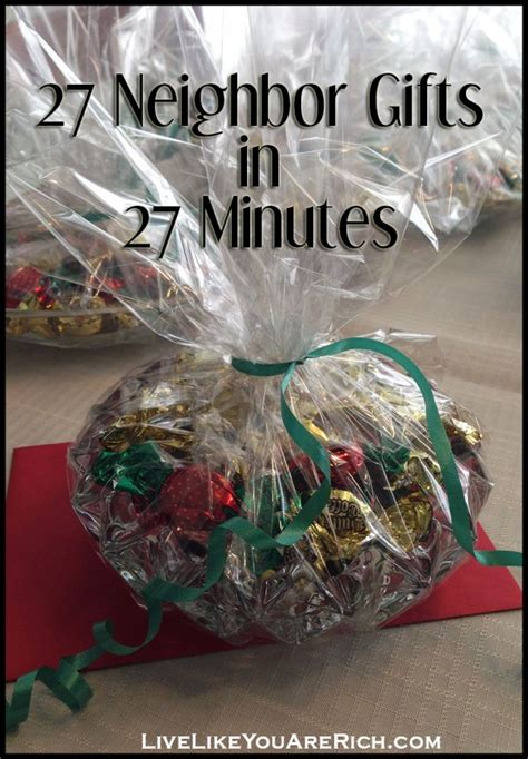 quick and inexpensive neighbor gifts for christmas live