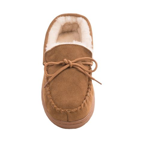 moccasin slippers for lamo footwear classic moccasin slippers for 7518m
