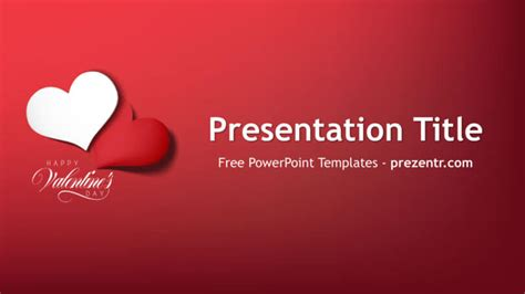 powerpoint valentine s day themes free valentine s day powerpoint template prezentr