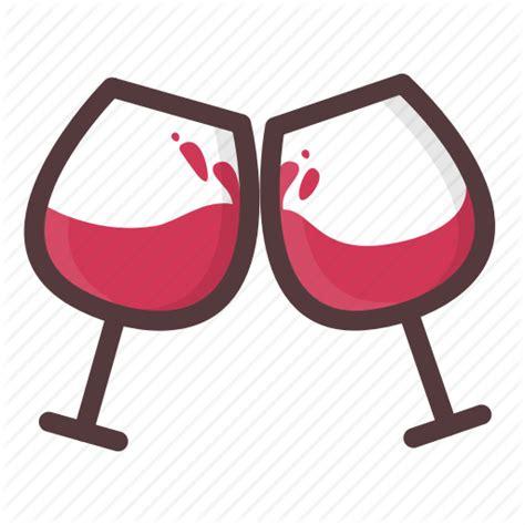 cartoon wine glass cheers valentine s day by aarthi padmanabhan