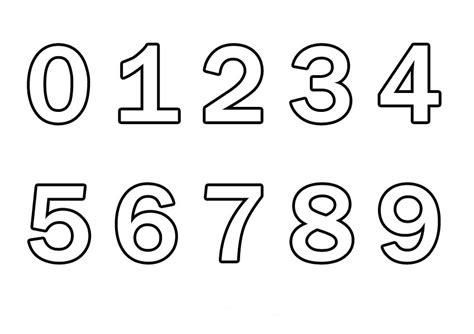lettere e numeri da stare immagini di numeri da colorare numeri grandi da stare az