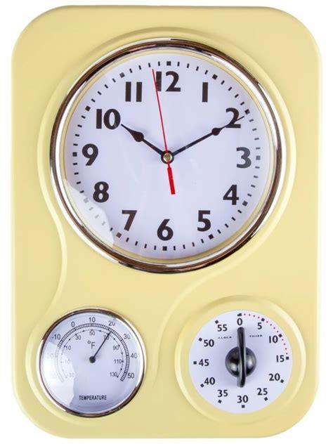 kitchen clocks vintage inspired kitchen decor gadgets happiness is