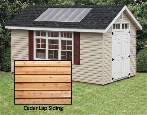 cedar lap siding potting sheds sheds  siding