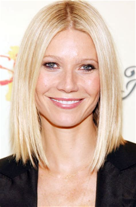 long bob hairstyles gwyneth paltrow short bob part in the middle search results hairstyle
