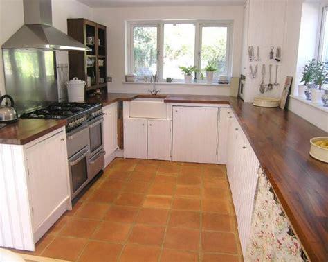 kitchen floor tile ideas tile surfaces updating a cozy wooden worktop design ideas photos inspiration