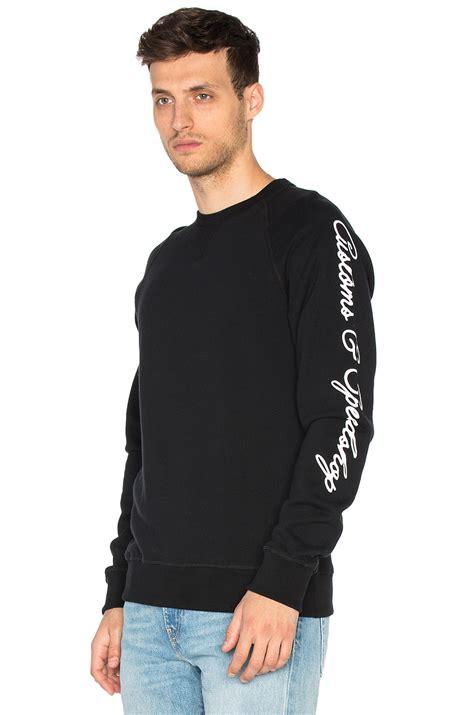Hoodie Sweater Deus Abu deus ex machina c s crew in black for lyst