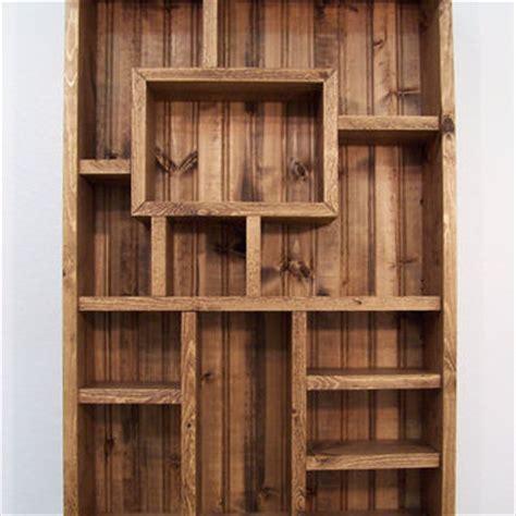 Living Room Wooden Shelves Shadowbox Wood Shelf Shadow Box Display From