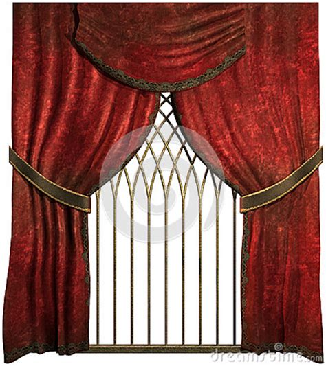 old curtains old red curtains stock photos image 26394773