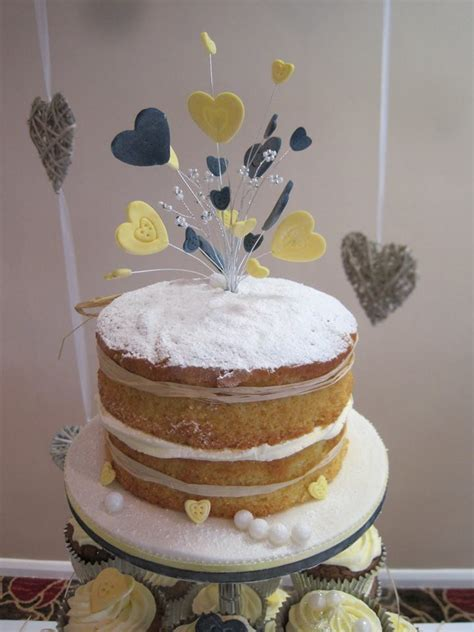 Naked wedding cakes from Cakes For All UK