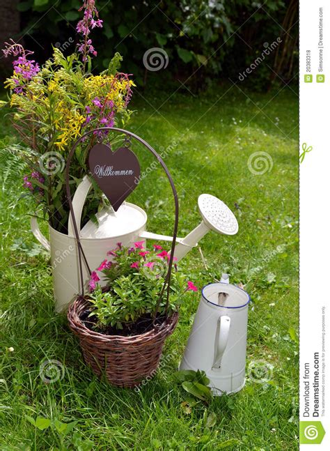 Garden Decoration Free by Garden Decoration Flower Royalty Free Stock Photos