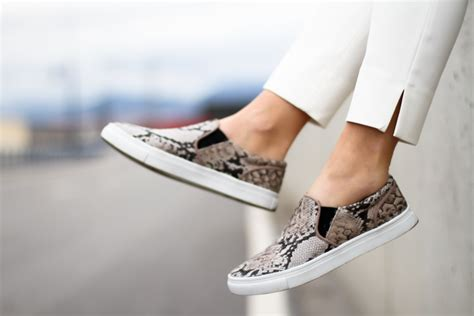 slip on sneakers trend on trend 5 ways to wear slip on sneakers visual therapy