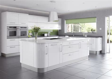 shiny white kitchen cabinets kitchen design trends for 2014 your kitchen broker