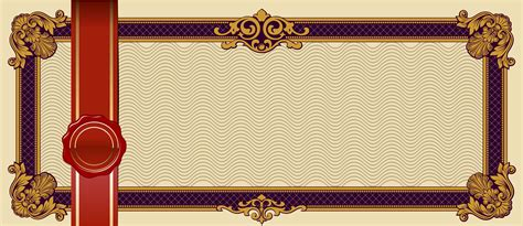 european pattern lace stamp voucher coupon background